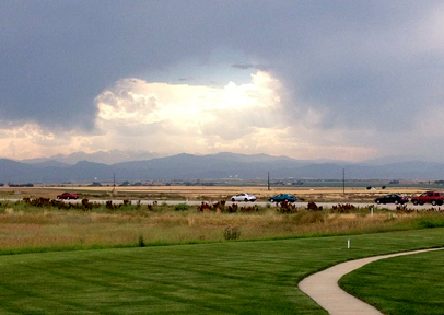 Front Range Viewed from Greeley, CO